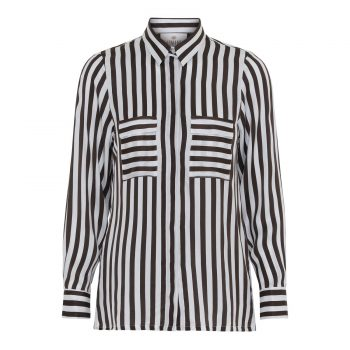 Karmamia Black Stripe Shirt