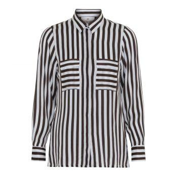 Karmamia Black Stripe Shirt