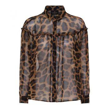 Karmamia Peyton Shirt Leo Chiffon
