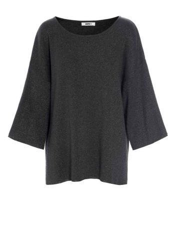 Katrin Uri Ritz Loose Pullover Charcoal 1830300
