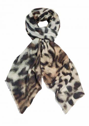 Katrin Uri Skjerf Original Leopard Multicolor 1830906