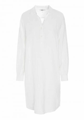 Katrin Uri Ultimate Linen Dress White