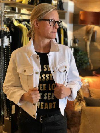 Lois Torero Mini Charpak Vibrant Jacket White