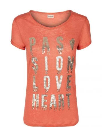 Mos Mosh Crave Crop Tee Burnt Sienna 125910