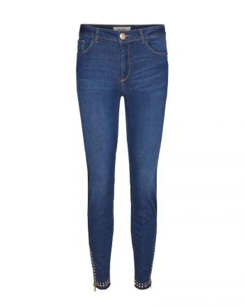 Mos Mosh Victoria Trok Jeans Blue Denim