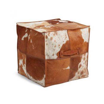 NC Poud of Prem Quality Calf Leather w/Handle 45x45x45 cm Jersey