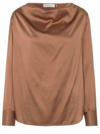 Rosemunde Blouse ls Copper Brown 4708-865