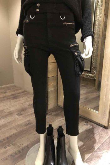 SixtyDays Military Jeans Black