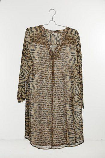 Sixtydays Susan Dress 98 Animal Print 11017